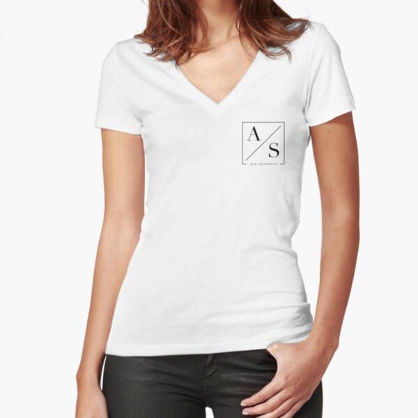 Ale Sessions Pocket logo Light Fitted V-Neck T-Shirt