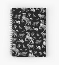 Cuaderno de espiral Tecnico Veterinario :: Rayos X Anatomia De Huesos De Animales
