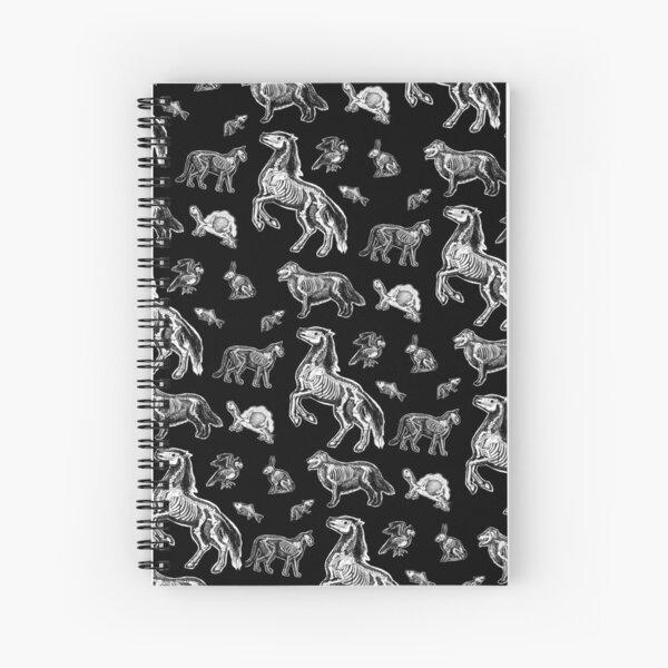 Veterinary Technician :: X-ray Animal Bones Anatomy  Spiral Notebook
