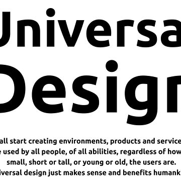 Universal Design by LeeWilson