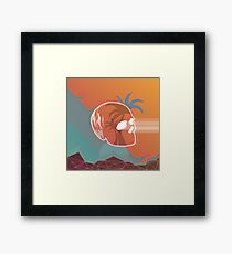 """NEON FIRE""  Framed Print"