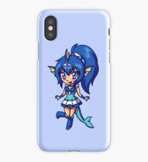 Vaporeon Magical Girl Chibi iPhone Case