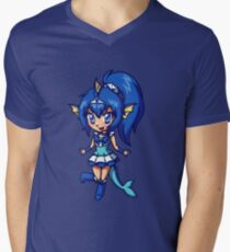 Vaporeon Magical Girl Chibi Men's V-Neck T-Shirt