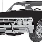 1967 Chevy Impala by EmmaEsme