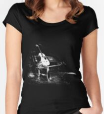 Bench Dark Women's Fitted Scoop T-Shirt