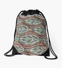 Branches and Leaves (horizontal) Drawstring Bag