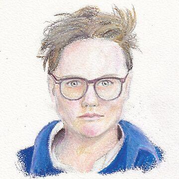 Hannah Gadsby by Michaelaart