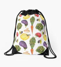 Watercolor Veggies Drawstring Bag