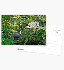SF Japanese Tea Garden Study 5  Postcards