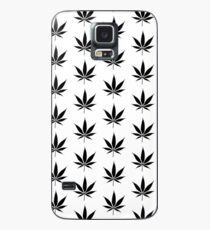 WEED BLACK Case/Skin for Samsung Galaxy