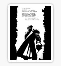 Sin City Dwight McCarthy makes a stand Sticker