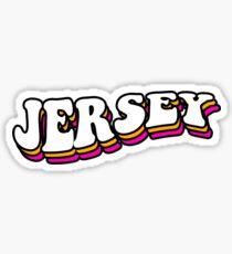 retro jersey Sticker