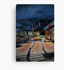 Bowness Walkway Canvas Print