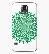 CIRCLE WEED Case/Skin for Samsung Galaxy
