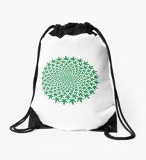 CIRCLE WEED Drawstring Bag