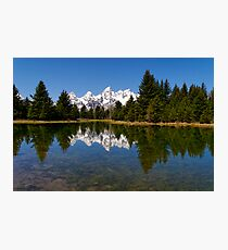 Midday Calm at Schwabacher Landing Photographic Print
