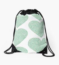 HEART WEED Drawstring Bag