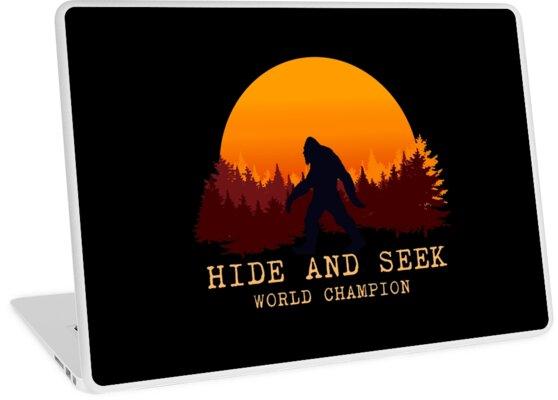 cabd69e2 Bigfoot tshirt adventurer camping Sasquatch sunset t-shirt - Hide and Seek  World Champion T