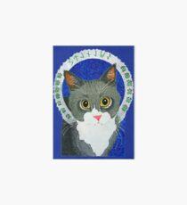 Saint Stanley the Cat Art Board