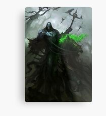 Famine and Fear Metal Print