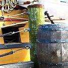 Ship and Barrel by sadeyedartist