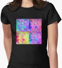 Four Butterflies by Jan Marvin Women's Fitted T-Shirt