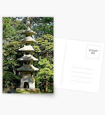 SF Japanese Tea Garden Study 7  Postcards