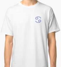 Blue Zodiac Cancer Classic T-Shirt