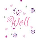 It Is Well by blessitshop