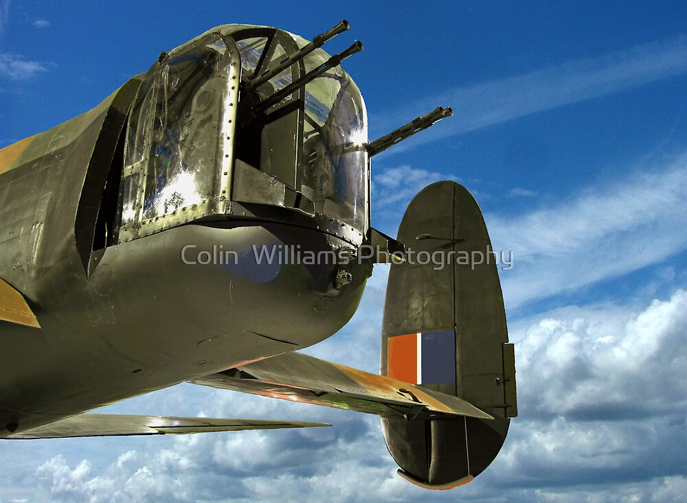 Tail End Charlie - Lancaster - R.A.F. Museum - Hendon by Colin  Williams Photography