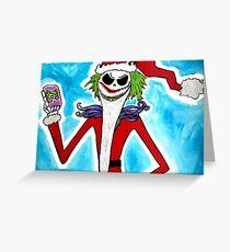 Jack-Joke Santa Greeting Card