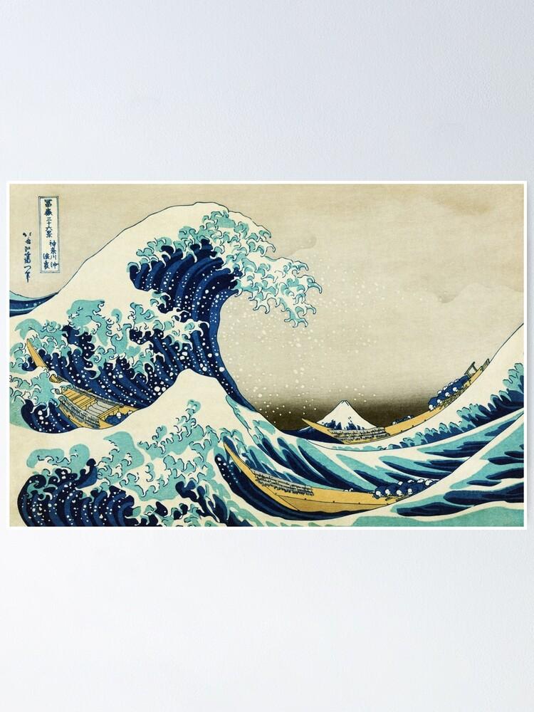 Die gro/ße Welle von Kanagawa Hokusai japanische Kunst Sweatshirt