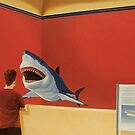 White Shark I (Stand Off) by Jason Moad