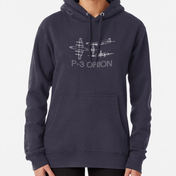 P3 Orion blueprints Pullover Hoodie
