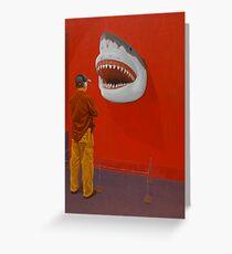 White Shark IV (Trophy) Greeting Card