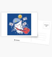 Moogle / Mog Mognet Postcards