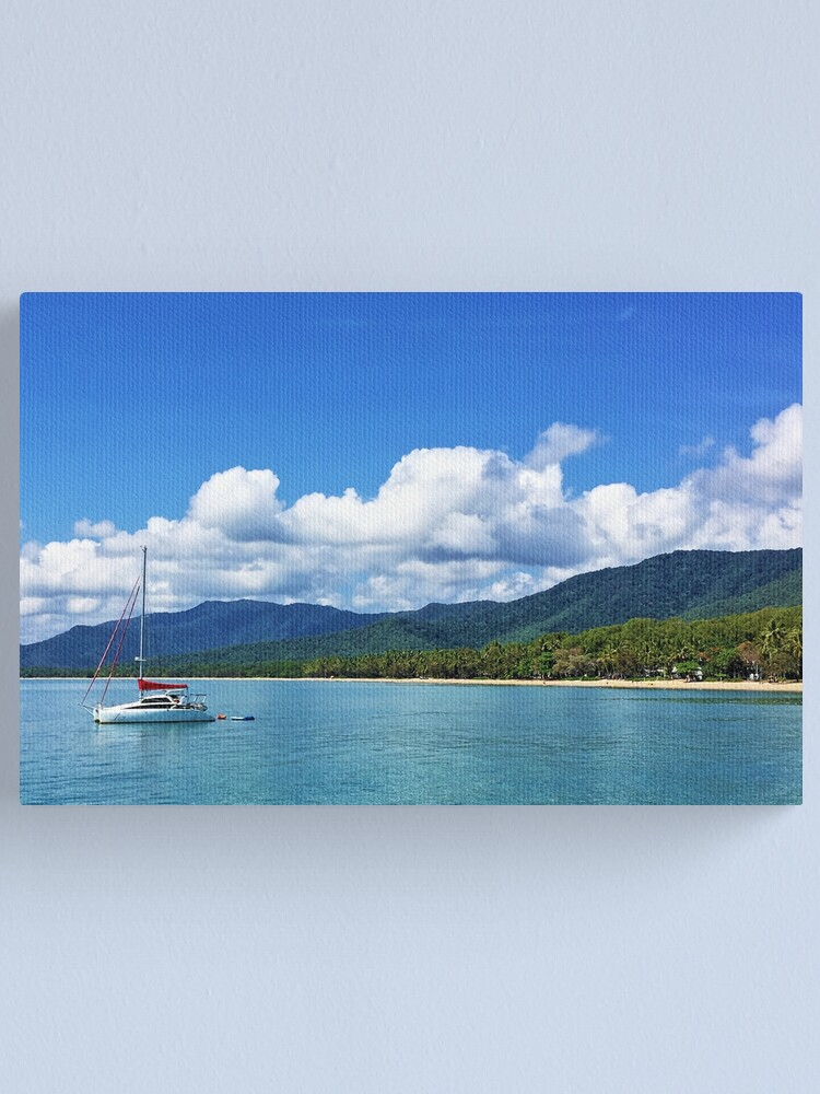 Alternate view of Palm Cove Canvas Print