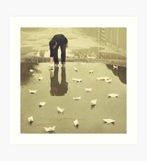 Are you puddled? Art Print