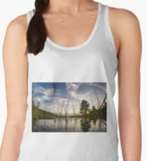 Sunset from the reeds  Women's Tank Top