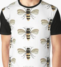 Gold Bee Graphic T-Shirt