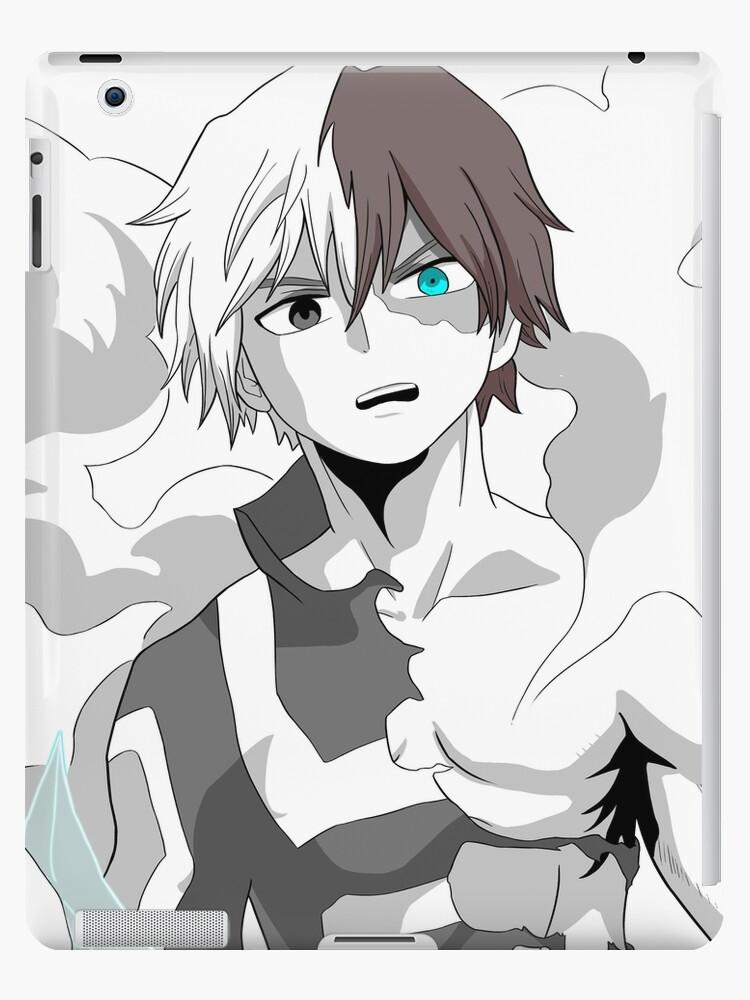 Shoto Todoroki My Hero Academia Ipad Case Skin By Brendenroel