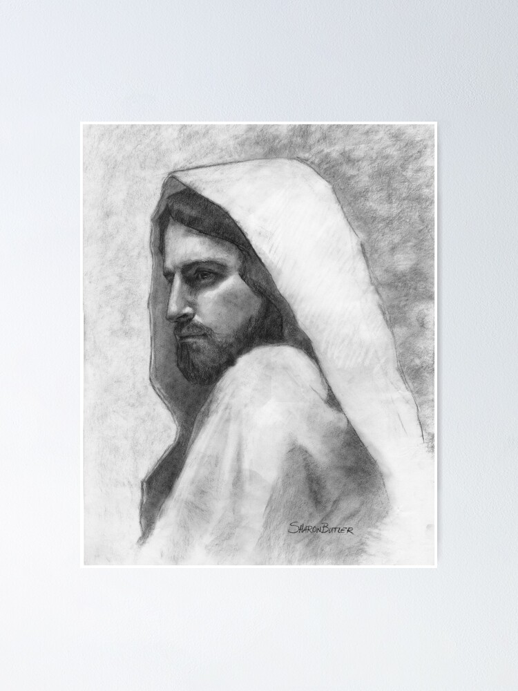 Alternate view of Savior Jesus Christ Poster