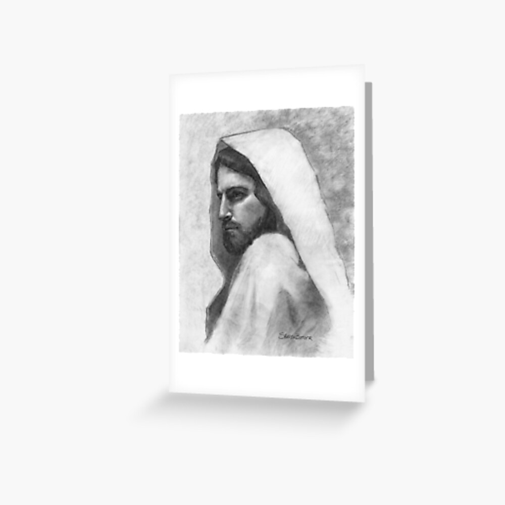 Savior Jesus Christ Greeting Card