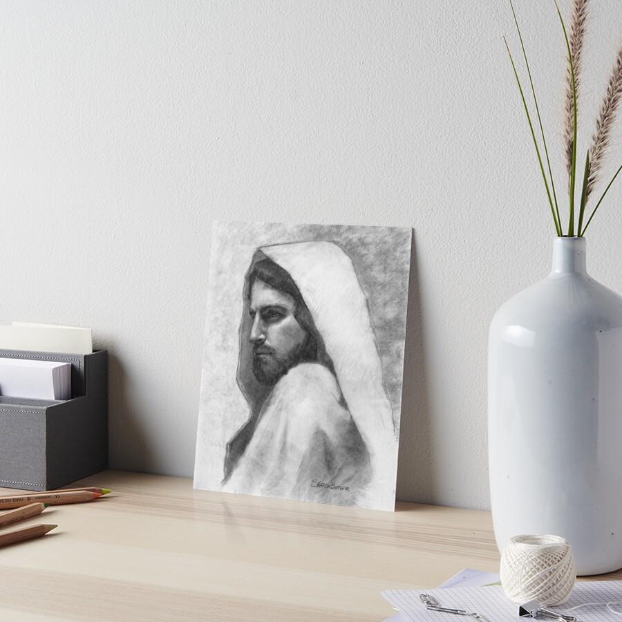 Savior Jesus Christ Art Board Print