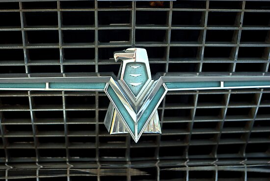 1966 Ford Thunderbird Emblem by TeeMack