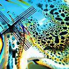 Windmills of La Mancha  by Valerie Anne Kelly