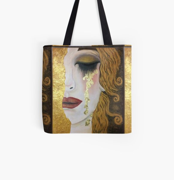 Portrait Of Adele Bloch-Bauer Gustav Klimt Baggage Tag For Travel Tags Accessories 2 Pack Luggage Tags