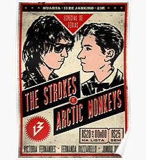 CLASSIC POSTER TOUR THE STROKES Poster