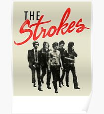 THE STROKES SPECIAL ART POSTER Poster