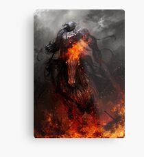 War and Ruin Metal Print